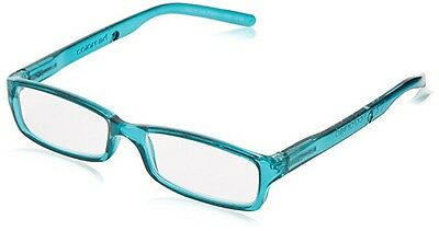 Foster Grant Coloread Reading Glasses Teal +1.00 With Matching Silicone Cord