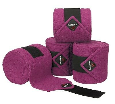 Lemieux Luxury Fleece Polo Bandages Set Of 4 Exercise/stable/dressage