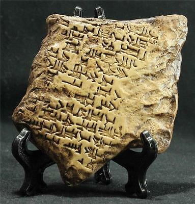 "ENOCH-ADAPA ""ASCENSION"" TABLET of Spells & Incantations 650 BC cuneiform tablet"