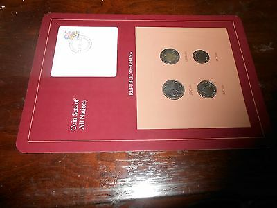 Nice Coin Sets Of The All The Nations Ghana Coin Set