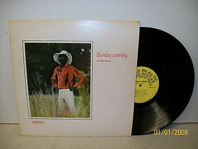 LP: Sunday Coming; Alton Ellis; UK Original Bamboo Stereo BDLPS 214; Near Mint