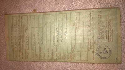 Triumph 3Ta Log Book Logbook