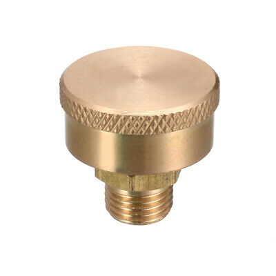 Machine Parts 1/8BSP Male Thread Grease Oil Cup Cap Gold Tone