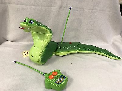 Fisher Price Slithering Jake The Snake Remote Control Cobra Rc Toy Htf