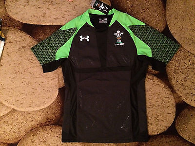Under Armour WRU Wales Welsh Rugby Union Jersey XL NWT MSRP $129.99