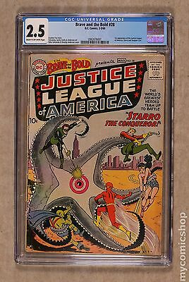 Brave and the Bold (1955 1st Series DC) #28 CGC 2.5 0962676001
