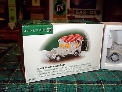 Dept 56 Russell Stover Delivery Truck #58972  Cic Village / Retired  Nib
