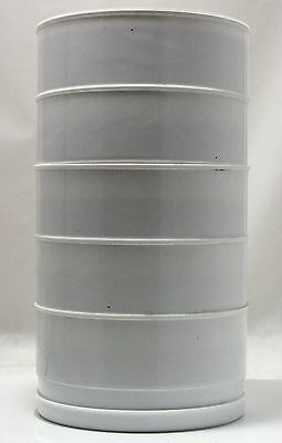 Set of 5 Stackable Brass Screened Sieves with Top & Bottom Covers