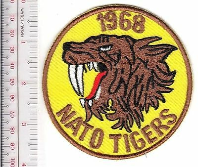 NATO Tiger Meet Royal Canadian Air Force FCAF 1968 439th Tiger Squadron CFB Lahr