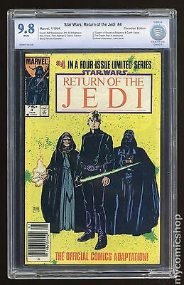Star Wars Return of the Jedi (1983 Movie) Canadian Price Variant #4 CBCS 9.8