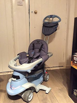 Smart Trike All in 1 Scooter Emporio Armani custome made steering handle & bag