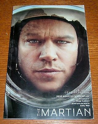 The Martian For Your Consideration Best Adapted Screenplay Academy Oscar Awards