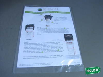New Selecto Filter 108‑014 Oem Smf Ic614 Quick Connect Water Beverage Filt