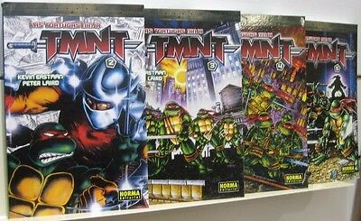 Coleccion Completa Comics Tortugas Ninja Turtles Norma Forum Tomos 1 A 5