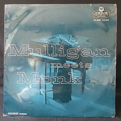 GERRY MULLIGAN Meets THELONIUS MONK LONDON UK Original LP Jazz EX