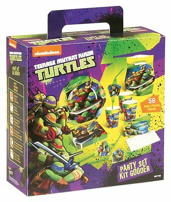 Teenage Mutant Ninja Turtle Party in a Box Set - 56 piece