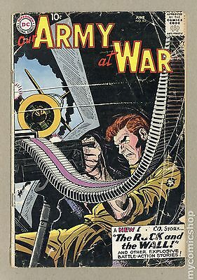 Our Army at War (1952) #83 FR/GD 1.5