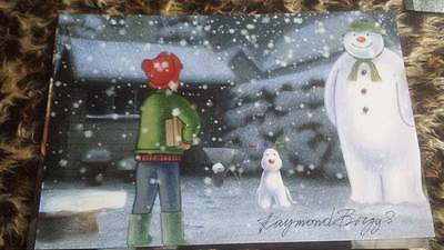 Raymond Briggs Signed Photo 12 X 8 The Snowman Santa Clause Coa