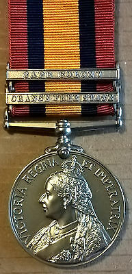 Queens South Africa Medal 2 Clasps Copy