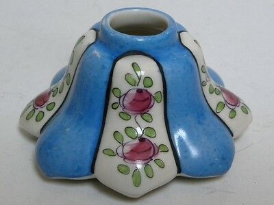 Rare Antique 1905 Inkwell-Gabriel Fourmaintraux-Desvres Porcelain Sevres France