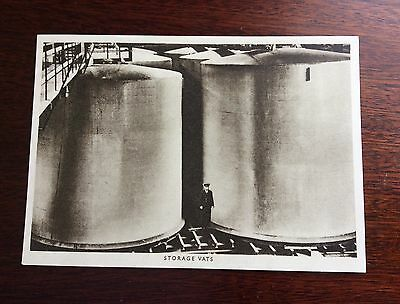 Vintage Guinness Postcard of The Storage Vats at St. James's Gate Dublin Ireland