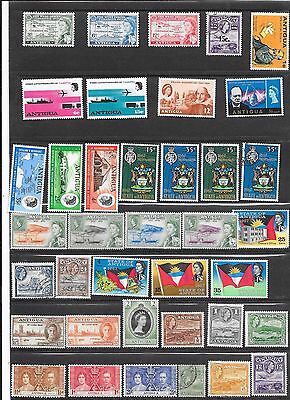 Antigua collection m/mint,MNH and fine used