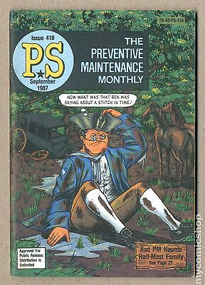 PS The Preventive Maintenance Monthly (1951) #418 FN/VF 7.0