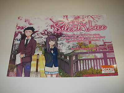 Dossier de presse press book A SILENT  VOICE ( manga )