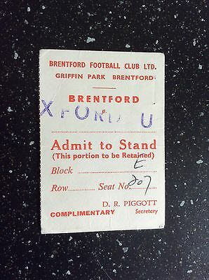 Brentford v Oxford United 1978-79