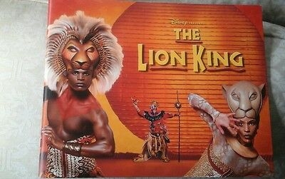 The lion king west end musical programme 2012