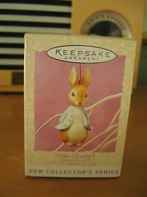 NIB Hallmark 1996 Peter Rabbit Beatrix Potter Series 1st Easter Spring Ornament