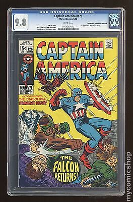 Captain America #126 CGC 9.8 (0958260010) Don/Maggie Thompson Collection