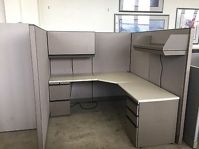 "CUBICLE/PARTITION SYSTEM by KNOLL MORISON 64""H"