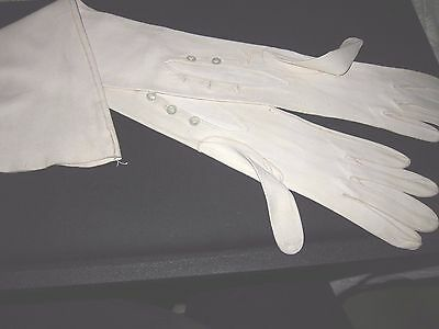 Antique French Long Kid Gloves