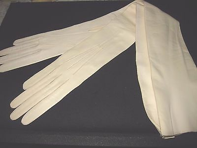 Antique French Long Kid Gloves/unused