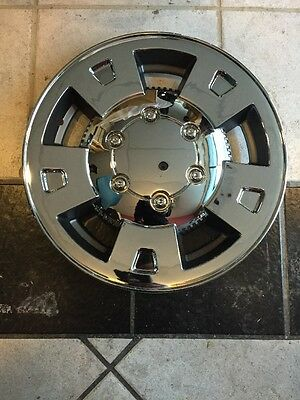 """4-colorado Canyon Skins Hubcaps Wheelcovers Chrome 2004 2005,2006,2007,2008. 15"""""""