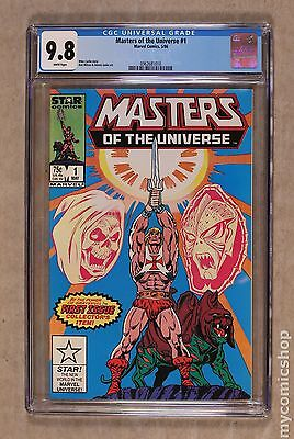 Masters of the Universe (1986 2nd Series Marvel/Star Comics) #1 CGC 9.8