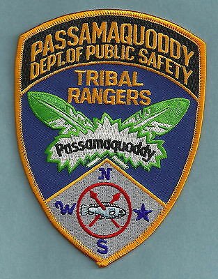 Passamaquoddy Tribal Rangers Maine Police Patch