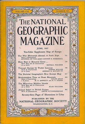 national geographic-JUNE 1957-THE MARVELOUS MALDIVE ISLANDS.
