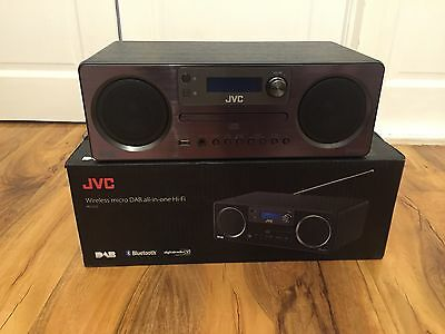 JVC RD-D70 All-In-One Hi-Fi with Bluetooth, USB, DAB/FM Radio, CD Player and