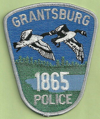 Grantsburg Wisconsin Police Patch