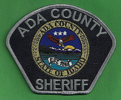 Ada County Sheriff Idaho Police Patch