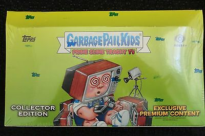 Garbage Pail Kids Prime Slime Trashy Tv Collectors Edition Hobby Topps 2016  New