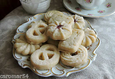 Sparkly Butter Cookies 10 ea. Wax Hand Crafted FAKE FOOD Staging Home Photo PROP