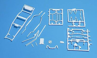Revell 1937 Ford Coupe Street Rod Frame Chassis Set 1/24 Scale
