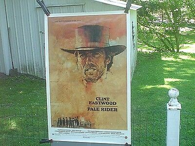 1985 Pale Rider Clint Eastwood  Movie Poster 41'' X 27'' Rolled
