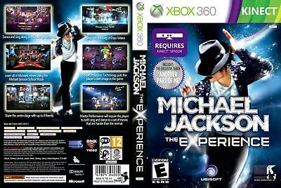New Sealed Michael Jackson The Experience Xbox 360 Video Game Kinect Multiplayer