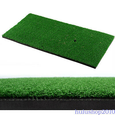 "Backyard Golf Mat 12""x24"" Residential Practice Golf Mat Rubber Tee Mount  Handy"