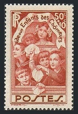 France B46,MNH.Michel 327. Aid of children of the unemployed,1936.