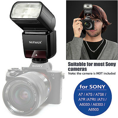 Neewer NW400S 2.4G HSS 1/8000s TTL GN36 Inalambrico Flash Speedlite Para Sony